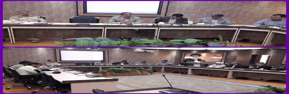 اولين جلسه هيات امناء شهداي گمنام شهرستان بيرجند برگزار شد.